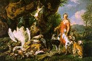 Jan  Fyt Diana with her Hunting Dogs Beside the Kill China oil painting reproduction