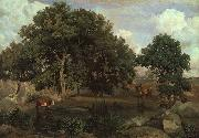 Jean Baptiste Camille  Corot Forest of Fontainebleau China oil painting reproduction