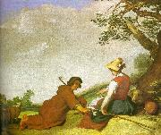 Abraham Bloemart Shepherd and Shepherdess China oil painting reproduction