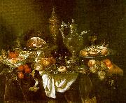 Abraham Hendrickz van Beyeren Banquet Still Life China oil painting reproduction