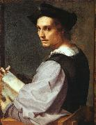 Andrea del Sarto Portrait of a Young Man China oil painting reproduction