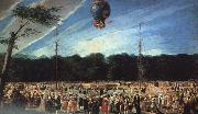 Antonio  Carnicero Balloon Ascent at Aranjuez China oil painting reproduction