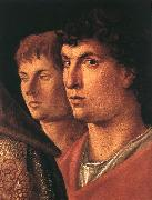 BELLINI, Giovanni Presentation at the Temple (detail)  jl China oil painting reproduction
