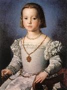 BRONZINO, Agnolo Bia, The Illegitimate Daughter of Cosimo I de  Medici China oil painting reproduction