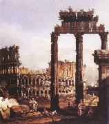 Bernardo Bellotto Capriccio with the Colosseum China oil painting reproduction