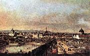 Bernardo Bellotto View of Vienna from the Belvedere China oil painting reproduction