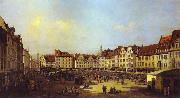 Bernardo Bellotto The Old Market Square in Dresden 4 China oil painting reproduction