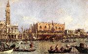 Canaletto Palazzo Ducale and the Piazza di San Marco China oil painting reproduction