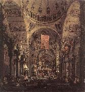 Canaletto San Marco: the Interior f China oil painting reproduction