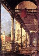Canaletto Perspective fg China oil painting reproduction