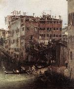 Canaletto The Rio dei Mendicanti (detail) China oil painting reproduction