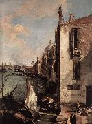 Canaletto Grand Canal, Looking East from the Campo San Vio (detail) fd China oil painting reproduction