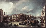 Canaletto The Grand Canal with the Rialto Bridge in the Background fd China oil painting reproduction