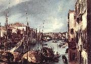 Canaletto The Grand Canal with the Rialto Bridge in the Background (detail) China oil painting reproduction