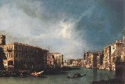 Canaletto The Grand Canal from Rialto toward the North China oil painting reproduction