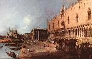 Canaletto Doge Palace d China oil painting reproduction