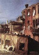 Canaletto The Stonemason s Yard (detail) China oil painting reproduction