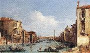 Canaletto The Grand Canal from Campo S. Vio towards the Bacino fdg China oil painting reproduction