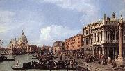 Canaletto The Molo: Looking West sf China oil painting reproduction