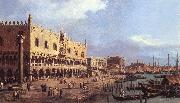 Canaletto Riva degli Schiavoni: Looking East df China oil painting reproduction