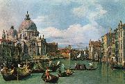 Canaletto The Grand Canal and the Church of the Salute df China oil painting reproduction
