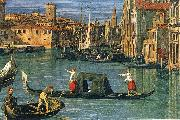 Canaletto The Grand Canal and the Church of the Salute (detail) ffg China oil painting reproduction