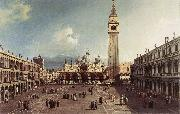 Canaletto Piazza San Marco with the Basilica fg China oil painting reproduction