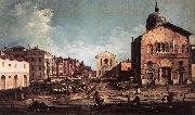 Canaletto View of San Giuseppe di Castello d China oil painting reproduction