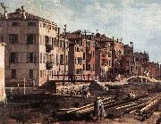 Canaletto View of San Giuseppe di Castello (detail) f China oil painting reproduction
