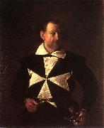 Caravaggio Portrait of Alof de Wignacourt fg China oil painting reproduction