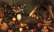 Caravaggio Still Life with Flowers Fruit China oil painting reproduction