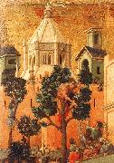 Duccio di Buoninsegna Entry into Jerusalem China oil painting reproduction