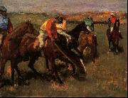 Edgar Degas Before the Race China oil painting reproduction