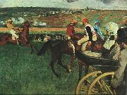 Edgar Degas At the Races China oil painting reproduction