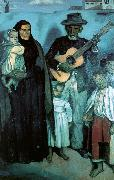 Emile Bernard Spanish Musicians China oil painting reproduction