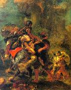 Eugene Delacroix The Abduction of Rebecca China oil painting reproduction