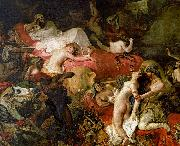 Eugene Delacroix The Death of Sardanapalus China oil painting reproduction