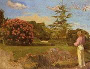 Frederic Bazille Little Gardener China oil painting reproduction