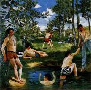 Frederic Bazille Summer Scene China oil painting reproduction
