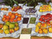 Gustave Caillebotte Fruit Displayed on a Stand China oil painting reproduction
