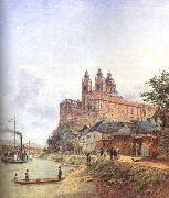 Jakob Alt The Monastery of Melk on the Danube China oil painting reproduction