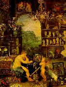 Jan Brueghel The Sense of Vision China oil painting reproduction