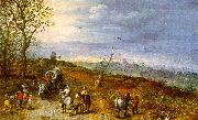 Jan Brueghel Wayside Encounter China oil painting reproduction