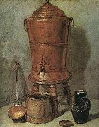 Jean Baptiste Simeon Chardin The Copper Cistern China oil painting reproduction