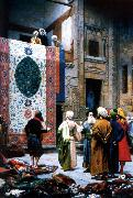 Jean Leon Gerome The Carpet Merchant China oil painting reproduction