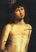 Lorenzo  Costa Saint Sebastian China oil painting reproduction