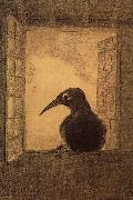 Odilon Redon The Raven China oil painting reproduction