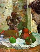 Paul Gauguin Still Life with Profile of Laval China oil painting reproduction