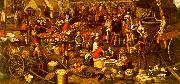 Pieter Aertsen Market Scene_a China oil painting reproduction