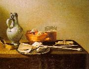 Pieter Claesz Pipes and Brazier China oil painting reproduction